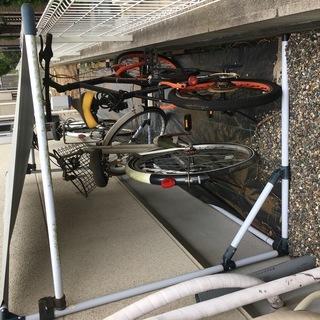 【取引成立】ミニベロ風折り畳み自転車あげます【ジャンク品】
