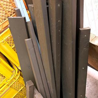 2×材(ツーバイ材) SPF材 古材 廃材 あれこれ 薪・燃料に