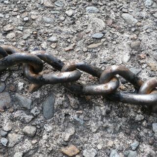 中古品 2tダンプのタイヤチェーン − 山形県