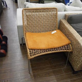 札幌 引き取り 籐/ラタン チェア/イス/椅子 一人掛け 南国風