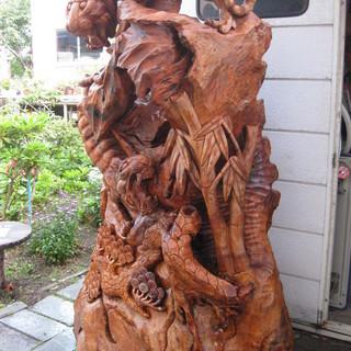 台湾メイド南洋樹彫刻と貴方のアート系作品と交換しませんか? - 恵庭市