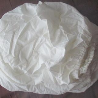 無印良品 敷ふとんシーツ ゴム付き シングルサイズ