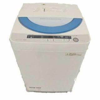 2015年式SHARP5.5キロ 洗濯機です 取り扱い説明書付きで...
