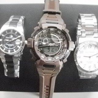 時計 3本