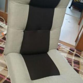 〔商談中〕(中古)腰が楽な ハイバック 座椅子とドーナッツクッション