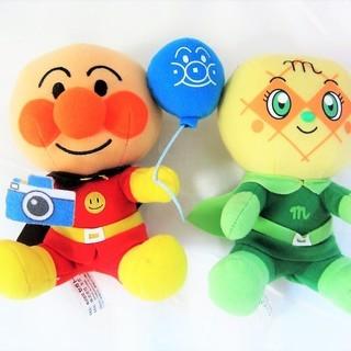 アンパンマン&メロンパンナちゃん人形セット  500円