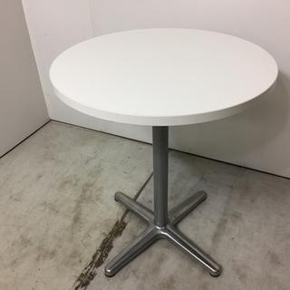 【愛媛県・松山市】オフィス家具 ミーティングテーブル 丸テーブル③