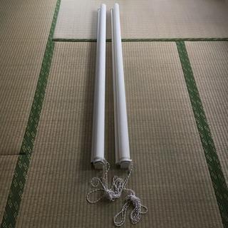 【2本セット】ニトリ 採光タイプロールスクリーン 130cm×220cm