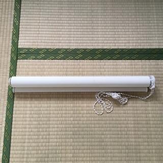 【無料】ニトリ採光ロールスクリーン 60cm×180cm オフホワイト