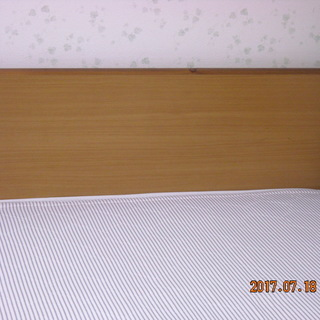 【取引中】取りに来てくださる方に、収納引き出し付きシングルベッド2...