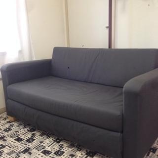 IKEAソファーベッドSOLSTA