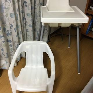 IKEA テーブル付きハイチェア & チェア 赤ちゃん~幼児用