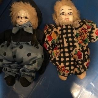 西洋磁器 人形2つまとめて