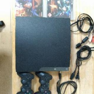 PS3とソフト2点(中古品)