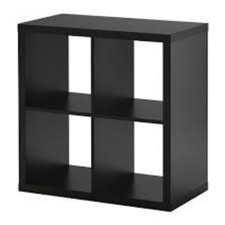 IKEA Blankhult (Kallax) 2x2 ダークブラウン