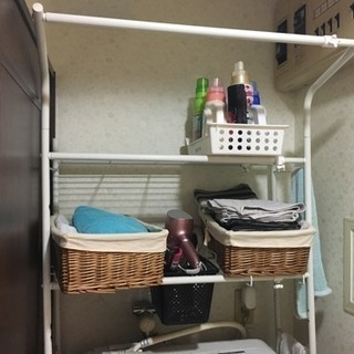 洗濯機上 物置