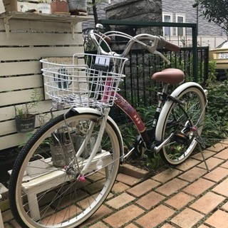 ジュニア自転車 marukin  24インチ シングルスピード  ...