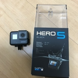 GoPro hero5 箱付き 正規品