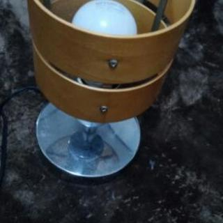 スタンドライト2個セット 電球付