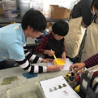 親子オリジナルTシャツ教室2017 倉敷教室