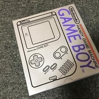 新品未使用初代ゲームボーイ!