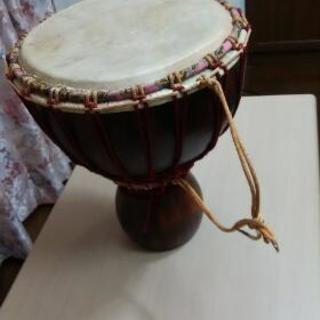 アフリカの太鼓&USBミキシングスタジオ
