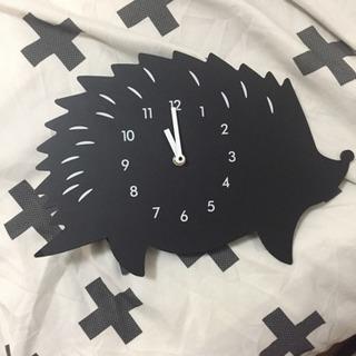 ニトリのハリネズミ時計!