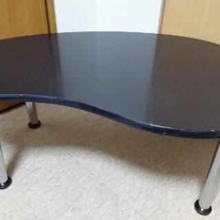 ローテーブル 黒 座卓 table
