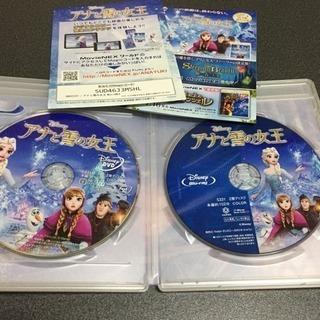 ディズニーアナと雪の女王(DVD&Blu-ray)