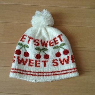 女の子 帽子  50㎝   3点セット