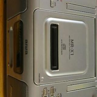 CD MD 2001年製aiwa