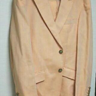 オレンジのスーツ170cm