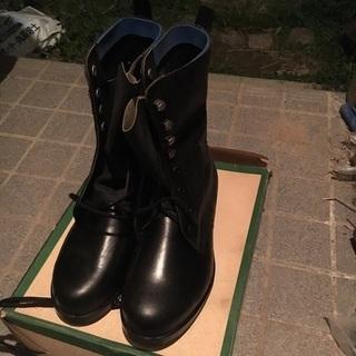編み上げ安全靴24 1/2cmEEE