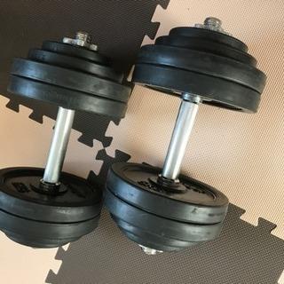 ダンベル60kg トレーニングベンチ