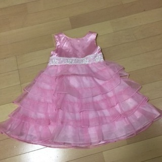 【リボンクルール】ピンクドレス 90サイズ