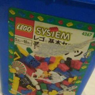 [取引中]お得です!LEGO 青バケツにいろいろ。