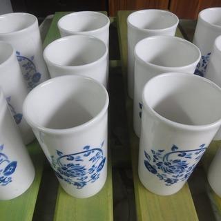 3c164 コップ 12個セット 陶器 中古 引取限定