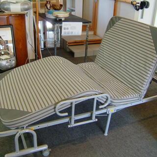 【値下げ】電動折りたたみベッド 背上げ 膝上げ可能