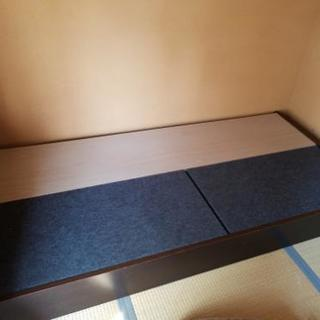 湯川家具シングル木製ベッド
