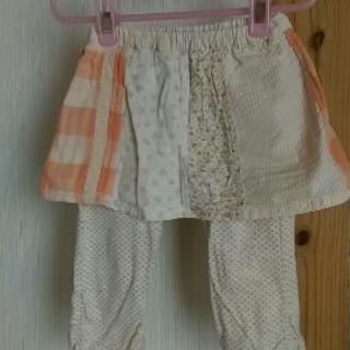 女の子スカートパンツ95cmビケットクラブ