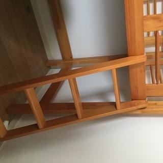 木製のロフトベット差し上げます。