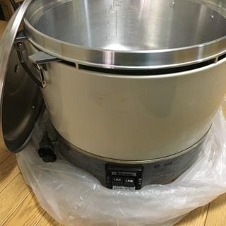 業務用ガス炊飯器→値下げ10/21