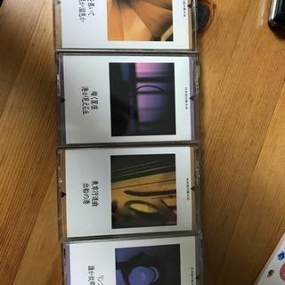 昔の日本流行歌 カセット4個