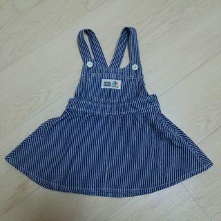 【美品】3can4on ジャンバースカート 90