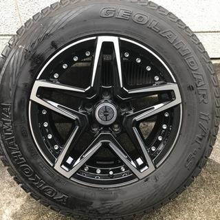 215/70R16 JAOSホイール、スタッドレスタイヤのセット!