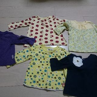 女児 80 長袖Tシャツ 5枚