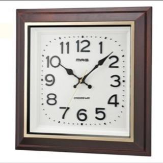 新古品 レトロな電波掛け時計