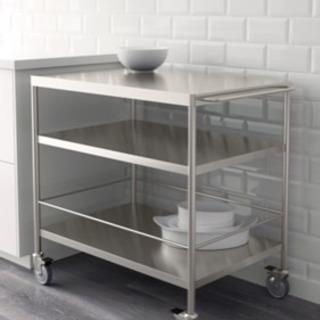 IKEA キッチン ワゴン ステンレススチール