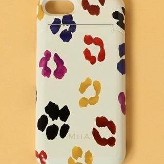 【ほぼ新品】MIIA iPhone7/8ケース