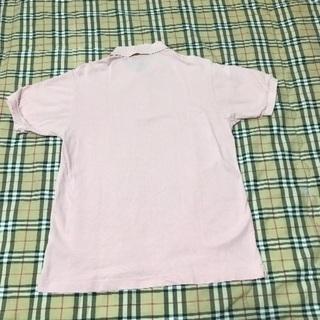 大幅値引き ラコステ ピンクポロシャツ サイズ4 - 大飯郡